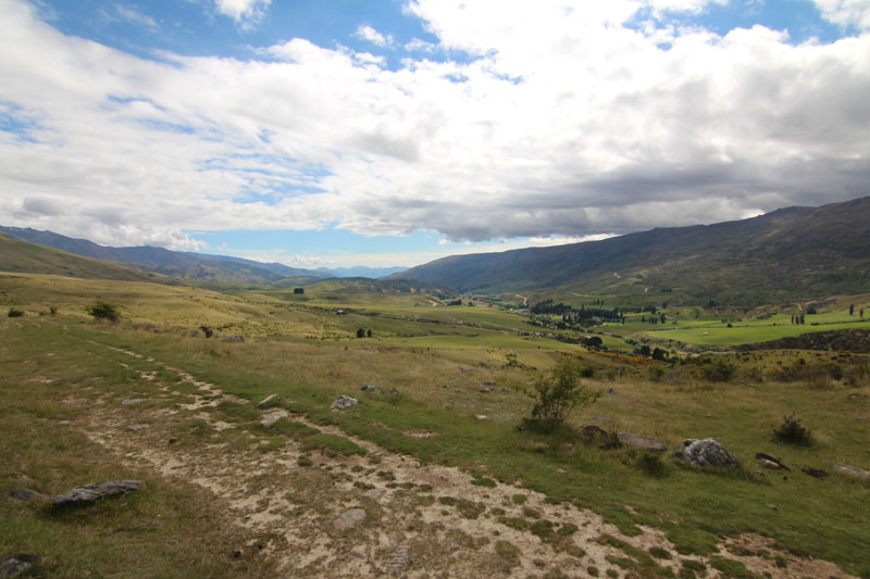 Landschaft Cardrona