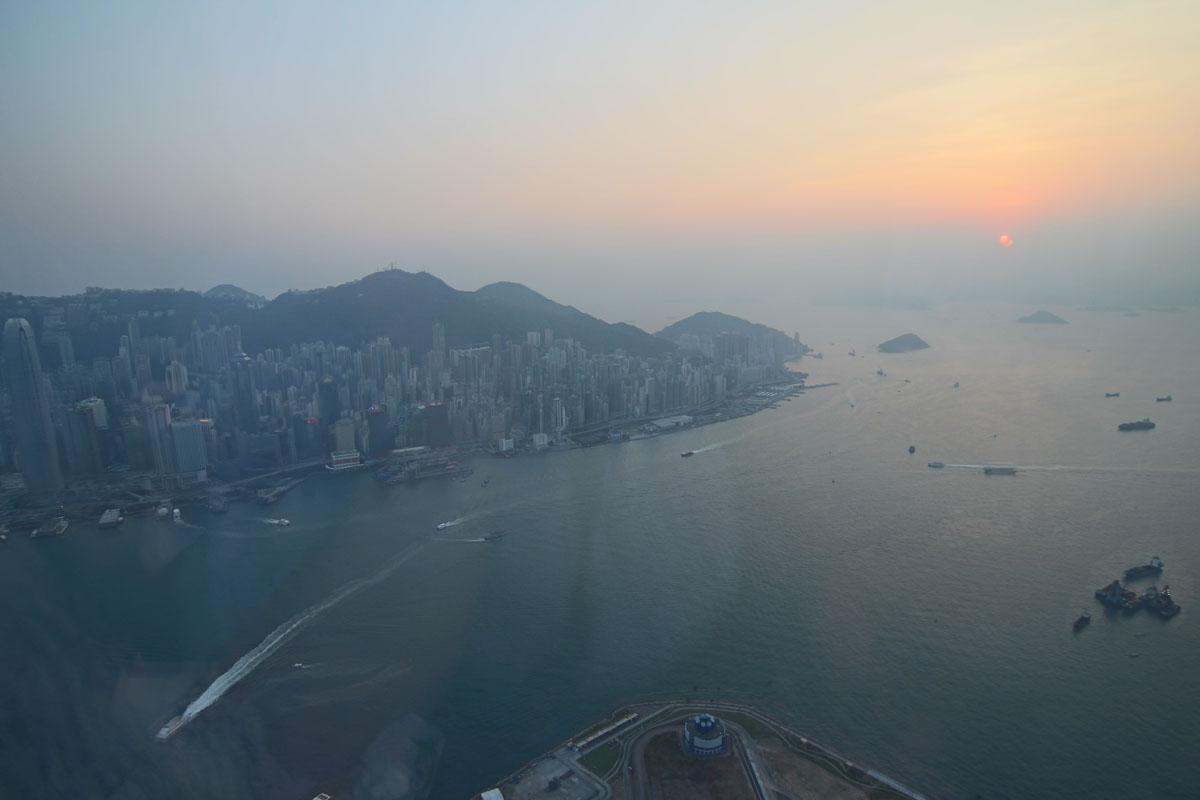 Toilettenblick Ozone Hong Kong