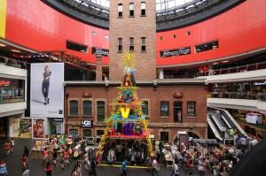 Denkmalgeschütztes Gebäude Melbourne Central
