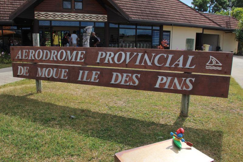 Kajaker auf Ile de Pins in Neukaledonien