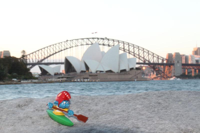 Vorabend in Sydney