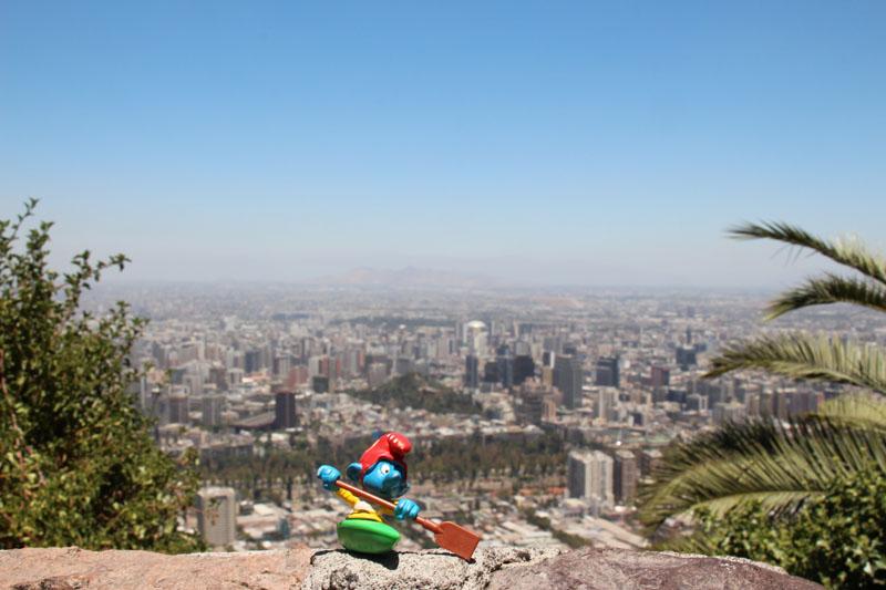 Kajaker in Santiago de Chile