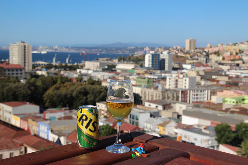 La mano de monja in Valparaiso