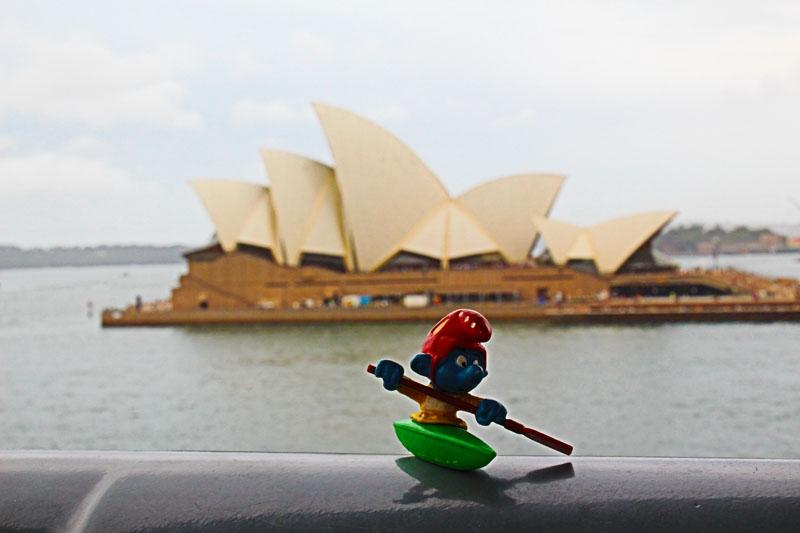 Kajaker in Sydney