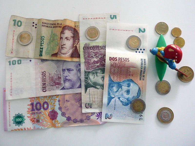 Argentinisches Bargeld