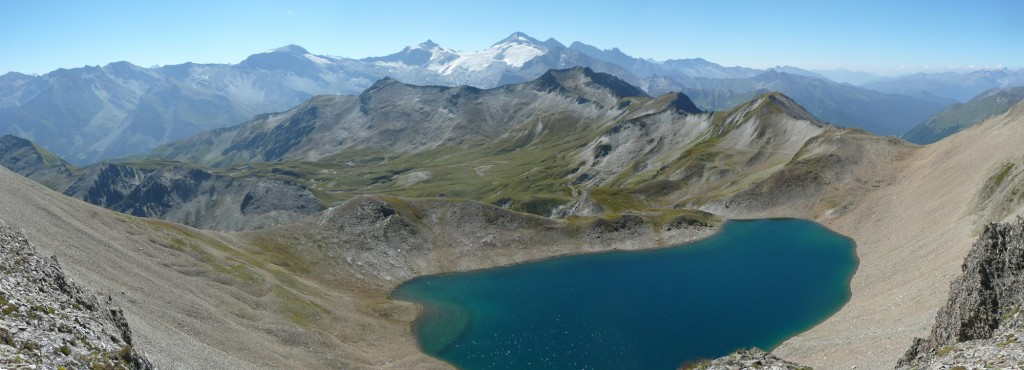 Panorama vom Geier Joch (2725m)