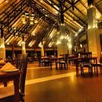 Hauptrestaurant Kuramathi von innen